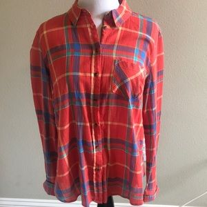 Light weight Flannel Top
